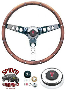 1969 1973 Gto Steering Wheel 13 1 2 Classic Walnut Grant Steering Wheel