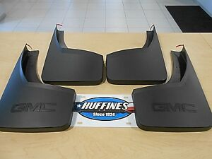 New Mud Flaps Splash Guards 14 19 Sierra Set Of 4 Front Rear 22894860 22894866