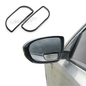 Safety Slim Secondary Side Blind Spot Mirror Rear View Wide For Universal Car