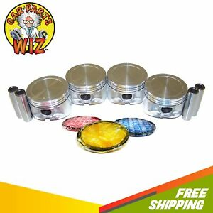 Pistons And Rings Fits 95 05 Plymouth Breeze Dodge Neon Chrysler 2 0l Sohc
