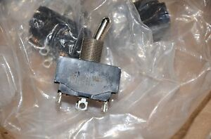 C h C h Eaton On Off 6 Position Toggle Switch 25al125vac 3a 250 6a 125 New