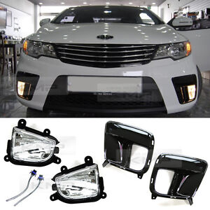 Genuine Parts Fog Light Lamp Cover Wiring For Kia 2010 2013 Cerato Forte Koup