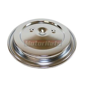 Air Cleaner Top Lid Chevy Gmc Truck Pickup 1993 Up Chrome 15 3 8 Dual Wing Nut