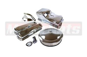 Small Block Ford Sbf Dress Up Kit 260 289 302 351w Mustang Oil Pan Air Cleaner