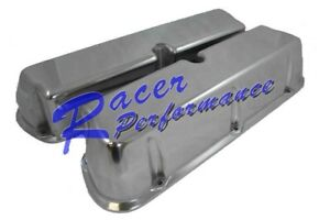 Sbf Ford 289 302 351w Polish Aluminum Valve Cover Mustang Small Block No hole