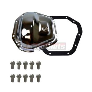Mopar Dodge Ford Dana 60 Chrome Steel Front Rear Differential Cover 10 Bolt