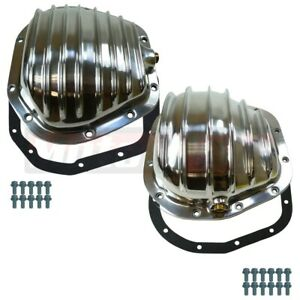 Polished Aluminum Ford Super Duty F 250 F 350 Excursion Differential Cover Kit
