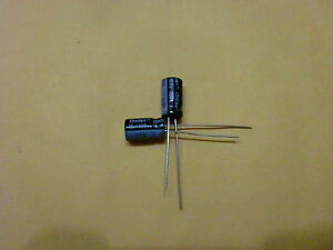 10uf 100v 6x11 20 105 100 Pcs Aluminum Electrolytic Capacitors Us Shipping