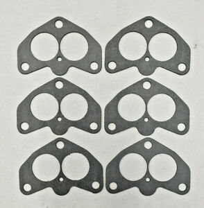 6 Stromberg 97 Ford Holley 94 Carb Flange Gasket To Intake Gaskets Us Made