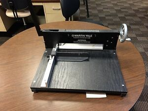 Martin Yale 7000e Commercial Stack Paper Cutter