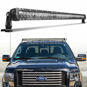 Professional Grade Volunteer Fire Fighter Police 40 Led Light Bar 200w 15 800lm