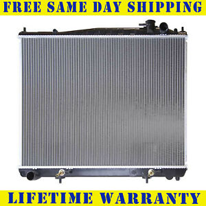 Radiator For 2000 2004 Nissan Pathfinder Infiniti Qx4 V6 3 5l Fast Shipping