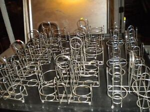 Lot 11 Chrome Table top Sauce Caddies Great For Indian Restaurant Must Sell