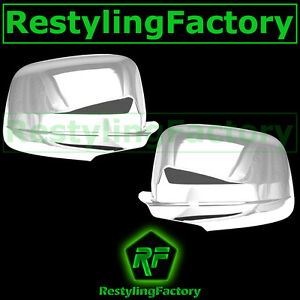 Triple Chrome Plated Mirror Cover W o Turn Light For 11 14 Jeep Grand Cherokee