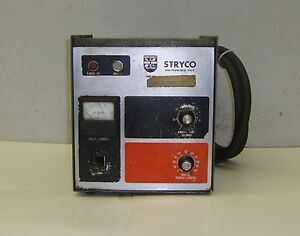 Stryco Welder Model S1000 220 440v 60hz 1ph 4 Pin Plug 17193lr