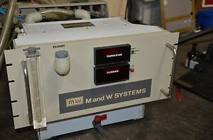 M W Systems Rp2 5gpm Flowrite Recirculating Pump Chiller