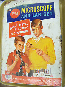 Gilbert Microscope And Lab Set Career Building Science Set 13094