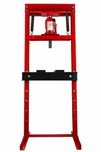 12 Ton Hydraulic Floor Standing Shop Press Heavy Duty Open Front
