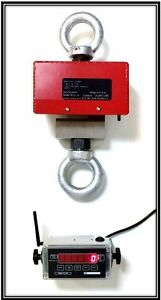 Wireless Industrial Hanging Crane Scale Made In The Usa 20 000 Lb Capacity