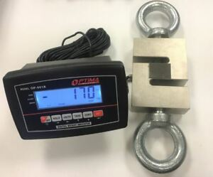 20 000 Lb X 2 Lb Crane Scale Hanging Scale Load Cell industrial calibrated