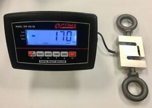 10 000 Lb X 1lb Crane Scale Calibrated s type Load Cell lcd Indicator tension