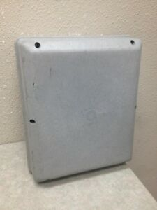Carlon Ah 619227 Nonmetallic Enclosure Nema 4 12 Used No Back Plate