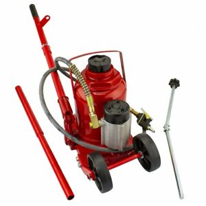 50 Ton Air Manual All Purpose Pneumatic Hydraulic Bottle Jack Lift Tool