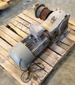 Nord Gear Drive Conveyor Drive 5 5kw 7 5hp Sk 9032 1 132 Sh 4 Ratio 23 91 73rpm