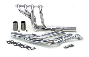 Musclerods 1973 77 Chevelle A Body Ls Swap Headers 1 7 8 Long Tube