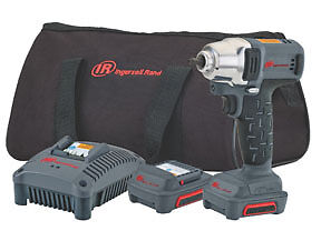 New Ingersoll Rand 12v Iqv 1 4 dr Cordless Impact Wrench Kit Ir W1120 k2