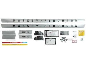 Massey ferguson Mf 135 Mf135 Tractor Complete Decal Set