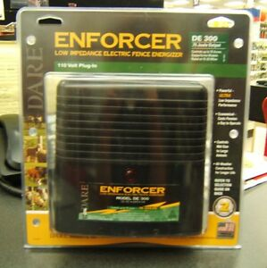 Dare Enforcer Electric Fence Energizer de 300 Up To 75 Acres