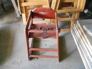 Used Restaurant High Chair