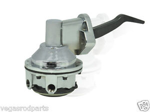 Ford 352 390 406 427 428 Big Block Chrome Fuel Pump Mechanical V8