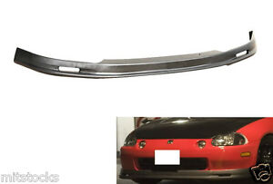 93 94 95 96 97 Honda Del Sol Mug Pu Black Add on Front Bumper Lip Spoiler Chin