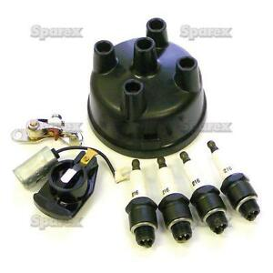 Ford Tractor Ignition Tune up Kit W Plugs Cap 600 601 700 701 800 801 900 901