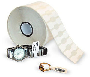 12 Rolls Thermal Jewelry Tags W out Flap 2 1 8 X 1 2 2490 roll quickbooks Pos