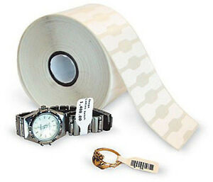 4 Rolls Thermal Jewelry Tags W out Flap 2 1 8 X 1 2 2490 roll quickbooks Pos