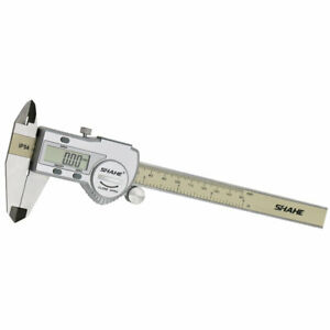 150mm 6 Ip54 Stainless Steel Digital Digimatic Vernier Caliper Pquimetro Lcd