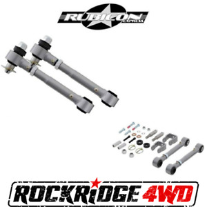 Rubicon Express Extreme Duty Sway Bar Disconnects 97 06 Jeep Wrangler Tj W 0 2