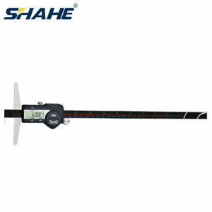 300mm Ip54 Single Hook Digital Depth Vernier Caliper Digimatic Electronic Gauge