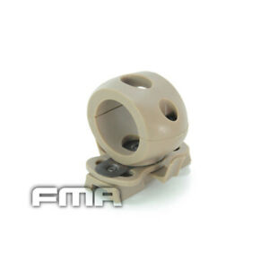 EMERSON Light Clamp for FAST Helmet Rails Single Airsoft Tactical Military Tan