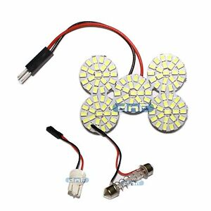 36 Mm Led Dome Light White Festoon De3175 De3022 Interior Panel Board Round