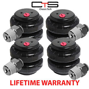 V 2500 Air Bags Springs Suspension Set Of 4 W 3 8 Push Lock Fits