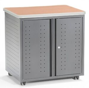 Maple Mobile Locking Utility fax copy Table 30 X 23 25