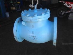 Toyo Gate Valve 8 Cast Iron 125 S 200 Wog fast Shipping