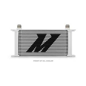 Mishimoto Universal Engine Oil Cooler 19 row Mmoc 19 Silver