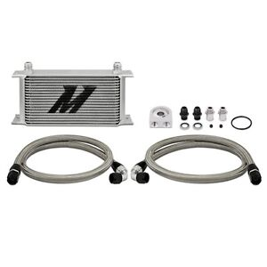 Mishimoto Universal Engine Oil Cooler Kit 19 Row Mmoc Ul Silver