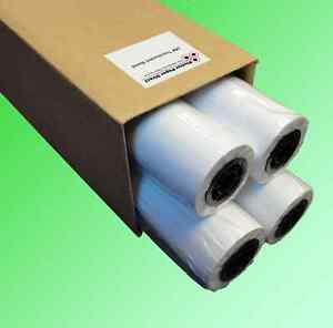 4 Rolls 42 X 150 18lb Translucent Bond Paper For Wide Format Inkjet Printers