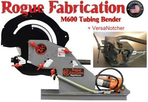 Tubing Bender W 2 00x6 0 Radius Die Set And Tube Notcher